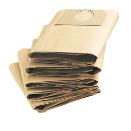 Papierfilterbeutel 5 St�ck zum Nass- und Trockensauger WD 3.500 P K�rcher