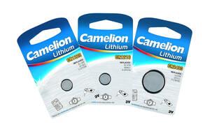 Knopfzelle, Lithium, CR2430 3Volt, Maße: 24,5 x 3 mm Camelion - Preisvergleich