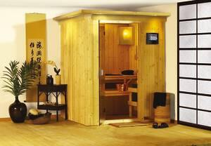 Plug and Play Sauna MINJA in verschiedenen Ausführungen Karibu