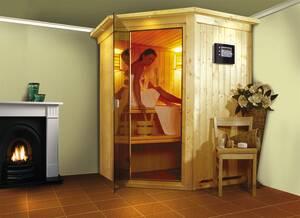 Plug and Play Sauna NANJA in verschiedenen Ausführungen Karibu