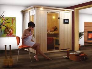 Plug and Play Sauna FANJA in verschiedenen Ausführungen Karibu