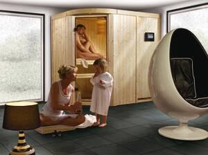 Sauna SAJA in verschiedenen Ausführungen Karibu