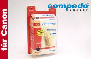 Druckerpatrone CANON PGI-5 chip schwarz Compedo im Preisvergleich