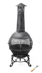 Feuerstelle Jacksonville - aus Gusseisen Tepro