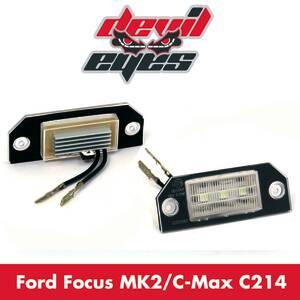 LED Kennzeichenbeleuchtung Ford Focus 2 MK2 & C...
