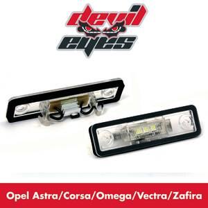 LED Kennzeichenbeleuchtung Opel Astra, Corsa, O...