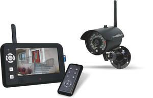 funk kamera system mit monitor kaufen. Black Bedroom Furniture Sets. Home Design Ideas