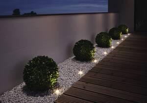 NOXLITE LED GARDEN SPOT Mini Gartenkette Komple...