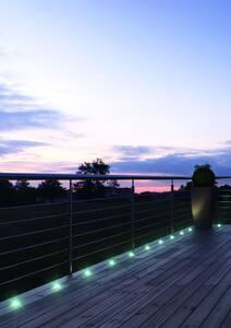 NOXLITE LED GARDEN SPOT Mini RGB Gartenkette Ko...