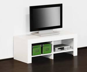 TV Teil, weiß, Maße 91 x 40 x 35 cm