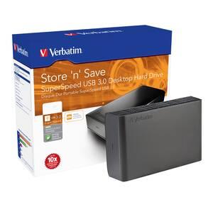 Externe 3 5 USB 3.0 Festplatten mit Nero Back IT UP Software - verschiedene Kapazitäten verbatim