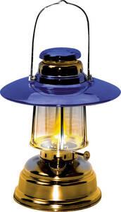 Docht Lampe f. Petroleum, mit Reflektorschirm W...