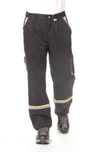 Arbeits Bundhose, Farbe schwarz/ grau, verschiedene Größen Preisvergleich