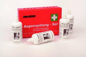 Augenspülungs Set  im praktischen Koffer - zur Sofort Versorgung Leina Werke