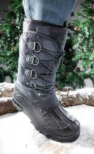 Schnee und Matsch Stiefel, Farbe schwarz/grau, Gr. 42 Westfalia Preisvergleich