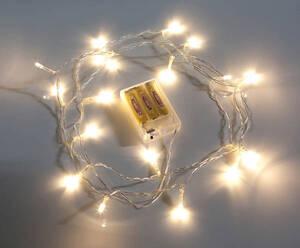LED Mini Lichterkette 20er mit Batteriebox Wetelux