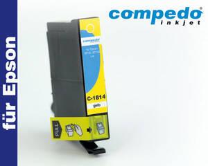 Epson T1804/1814 gelb Tintenpatrone Compedo