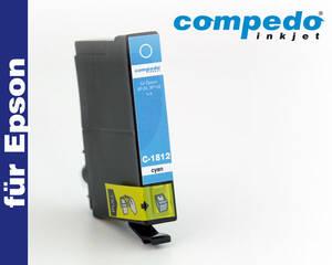 Epson T1802/1812 Cyan Tintenpatrone Compedo