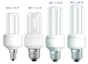 Energiesparlampen Dulux Star Stick E14 u. E27 O...