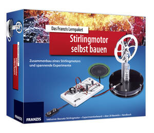 """Lernpaket """" Stirlingmotor selbst bauen """" mit spannenden Experimenten Franzis-Ver Preisvergleich"""