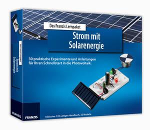 Lernpaket Strom mit Solarenergie Franzis-Verlag