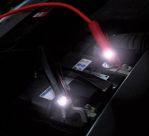 Starthilfekabel ALU STAR mit LED