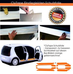Einstiegsleistenschutzfolie - Smart Fortwo - 3-...