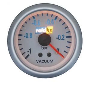 Zusatzinstrument Vacuummeter Silver-Line raid hp