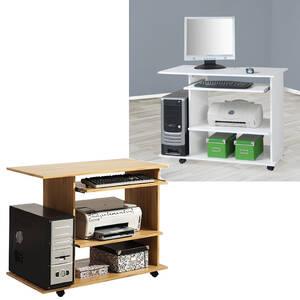 computertische auf rollen g nstig kaufen. Black Bedroom Furniture Sets. Home Design Ideas