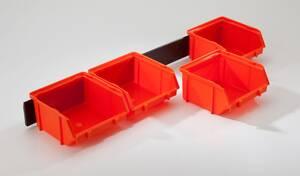 Sichtboxen Set 48 x 6,5 x 12 cm - 5-teilig
