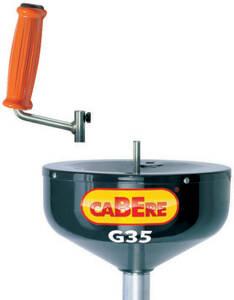 Kreiselschlange G35 2 für Rohre 40 - 50 mm Durchmesser Cabere