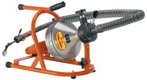 Rohrreinigungsmaschine G88 für Rohre von 40 - 50 mm Cabere