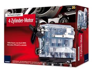 """Lernpaket """" 4-Zylinder-Motor """" mit komplettem Bausatz Franzis-Verlag Preisvergleich"""