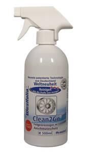 Felgenreiniger mit Schutz, 500 ml Clean2Go