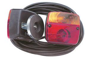 Drei-Kammerleuchte mit Magnet, 7,5 m Kabel, 7 p...