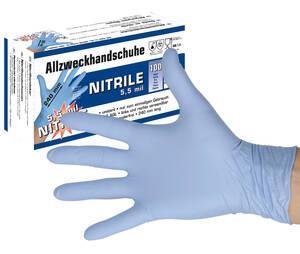 Allzweckhandschuhe Nitrile - verschiedene Größen