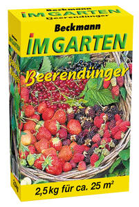 Beeren Dünger 2,5 kg - Dünger mit Hornspänen GartenMeister