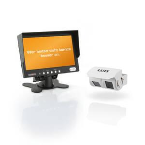 RV-Plus - Das Video-Rückfahrsytem mit Doppelaugenkamera Luis