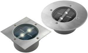Solar LED Bodeneinbaustrahler Lugo - Rund Ranex