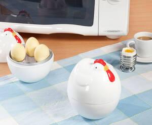 """Mikrowellen Eierkocher """"Henne"""", für 4 Eier Preisvergleich"""