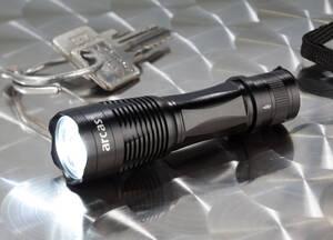 Mini LED Taschenlampe aus Aluminium, 1 Watt, 100lm Arcas