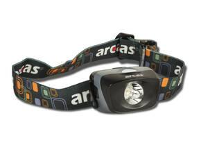 LED Stirnleuchte mit 3 Lichtfunktionen, 1 Watt Arcas