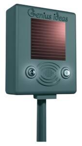 Solar-Vogelvertreiber mit Ultraschall & Blitzlicht