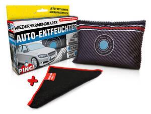 Auto Entfeuchter mit GRATIS Reinigungstuch Pingi