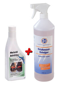 Heizkesselreiniger 1 L + Das moderne Heizöl Additiv, 1 l - aschefrei Westfalia