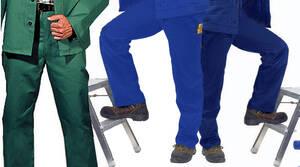 Arbeits Bundhose, hydronblau, Größe 60 Preisvergleich