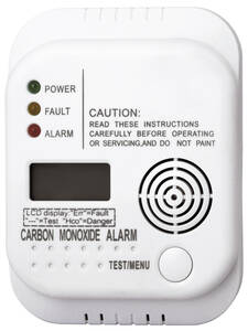 Kohlenmonoxid (CO) Warnmelder RM370 mit LCD Display