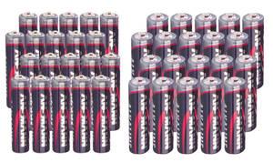 Alkaline Batterien - Sparpacks Ansmann