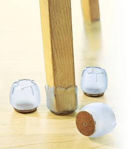 Stuhlkappen, 4er in unterschiedlichen Größen Wenko