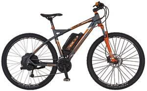 E-Bike Alu-MTB Twentyniner 29 BERGSTEIGER 6.8 REX